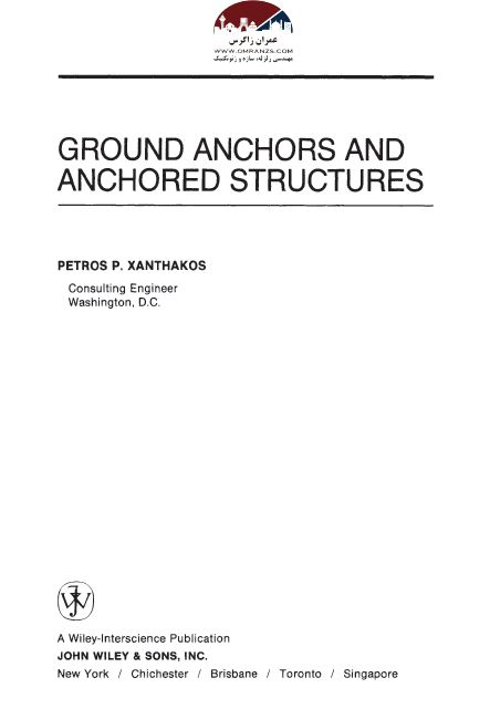 Ground Anchors and Anchored Structures